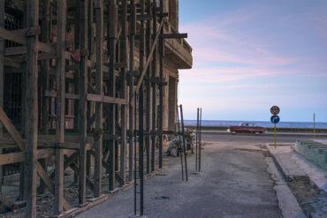 Scaffolding at Malecon#02
