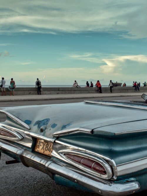 Taxi at Malecon #11